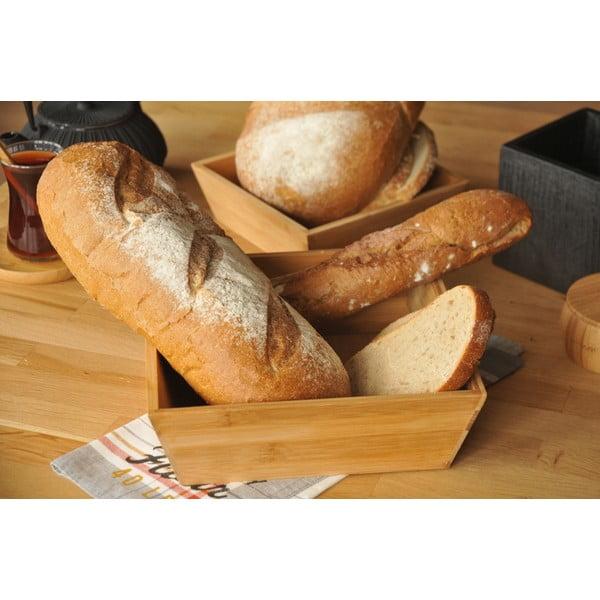 Bambusowy pojemnik na chleb Solly 19 cm
