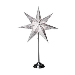 Świecąca gwiazda ze stojakiem Antique Grey, 70 cm