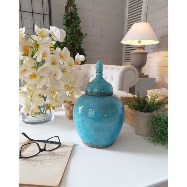 Waza Ceramic Blue Antique