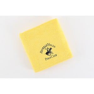 Ręcznik bawełniany BHPC 50x100 cm, jasnożółty