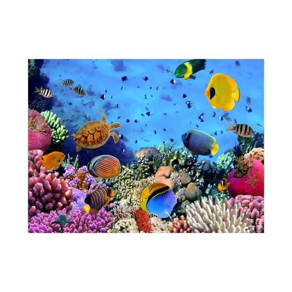 Wielkoformatowa tapeta Pod morzem, 315x232 cm