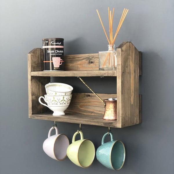 Ręcznie wykonana wielofunkcyjna półka kuchenna Bella