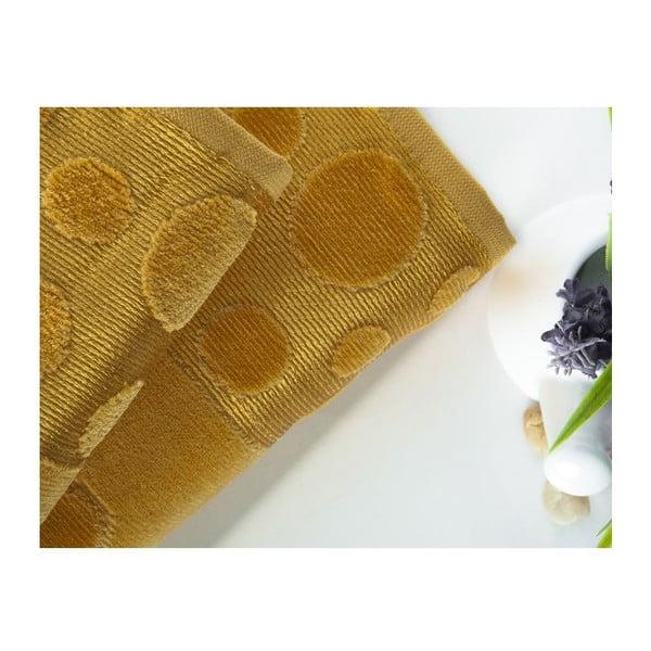 Zestaw 2 ręczników Tropical Mustard, 50x90 cm a 70x140 cm