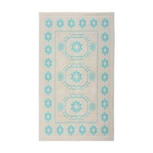 Turkusowy dywan bawełniany Floorist Oni, 120x180cm