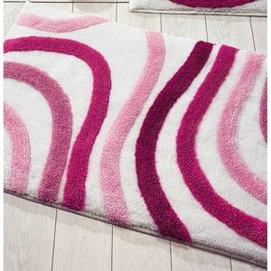 Różowy dywanik łazienkowy Confetti Bathmats Sardes, 60x100 cm