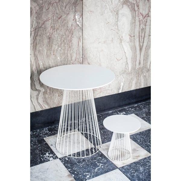 Biały stolik Serax Bistrot Garbo, ⌀ 50cm