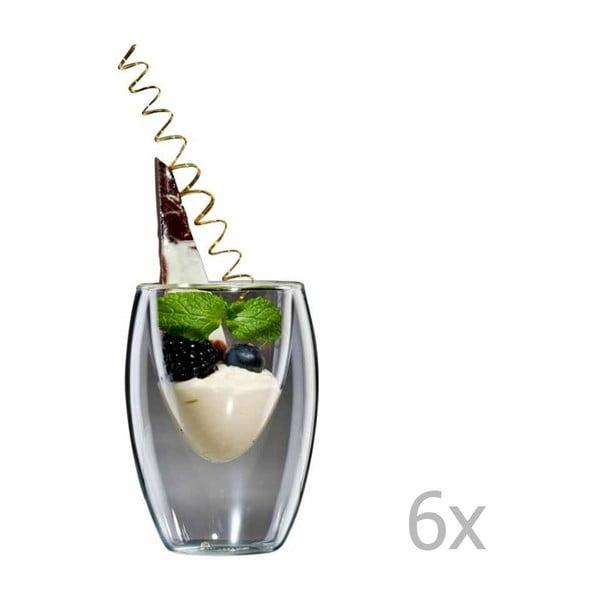 Zestaw 6   dużych szklanek bloomix Ovo