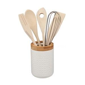 Zestaw bambusowych przyborów kuchennych Tarro