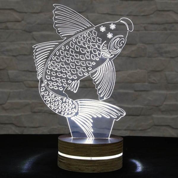 Lampa 3D stołowa Big Fish