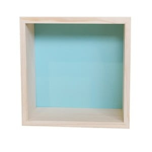 Dekoracja Cubo Nordic Aqua L