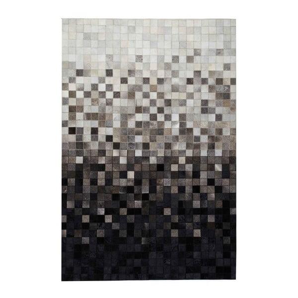 Dywan skórzany Sao Paulo Black, 140x200 cm