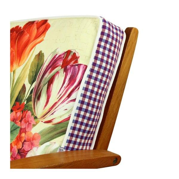 Poduszka na krzesło z wypełnieniem Irving, 42x42 cm