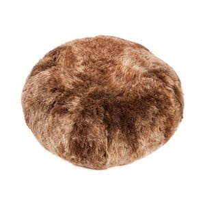 Poduszka futrzana do siedzenia z krótkim włosiem Rusty Brisa