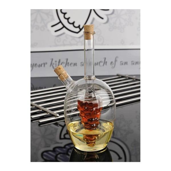 Butelka na ocet i olej Glass