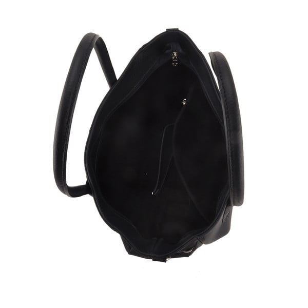 Skórzana torebka Emilio Masi Baiten, granatowa