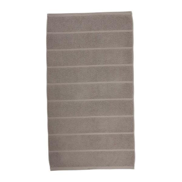 Szarobrązowy ręcznik Aquanova Adagio,55x100cm