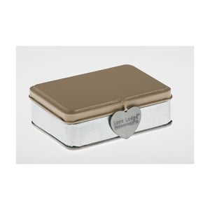 Pudełko Metallo Beige