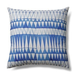 Niebiesko-szara poduszka La Forma Greece, 45x45 cm