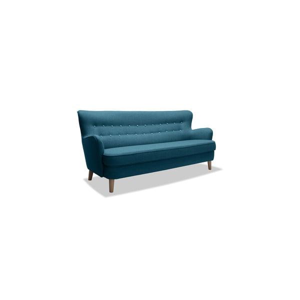 Turkusowa sofa trzyosobowa VIVONITA Eden