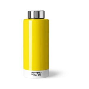 Żółta butelka ze stali nierdzewnej Pantone, 630ml
