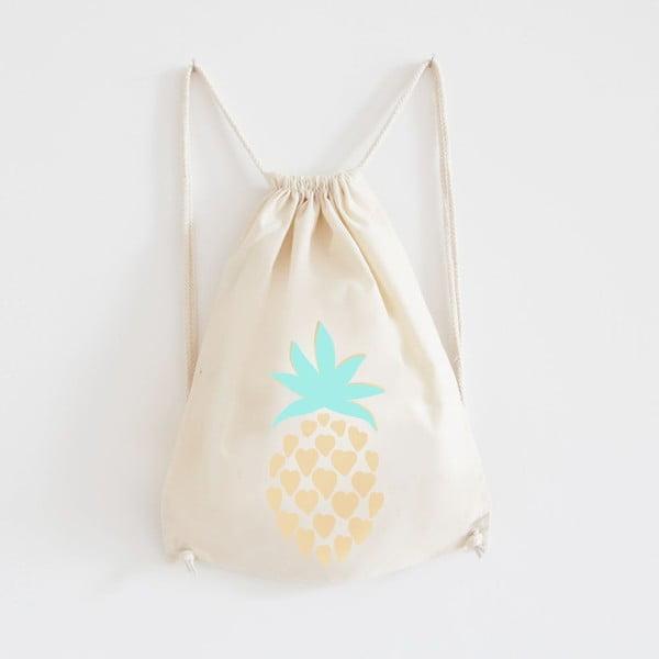 Plecak płócienny Ananas Gold