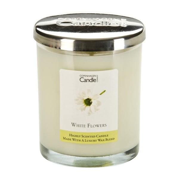 Świeczka zapachowa White Flowers, czas palenia 40 godzin