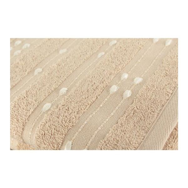 Zestaw 2 ręczników Patlac Brown, 50x90 cm