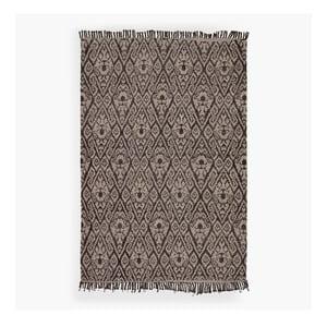 Brązowy dywan Lluvia, 150x200 cm