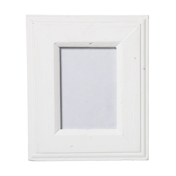 Ramka na zdjęcia Antik, biała, 18x23 cm