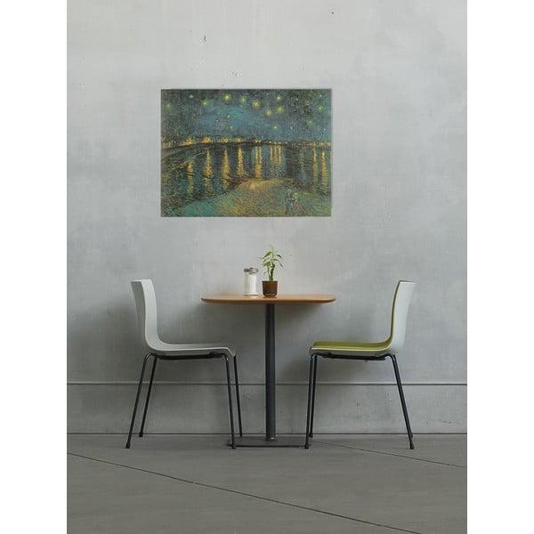 Obraz Vincent Van Gogh - Gwiaździsta noc nad Rodanem, 80x60 cm