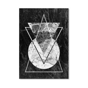 Plakat Geo Triangles
