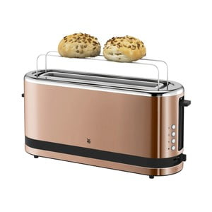 Nierdzewny toster na kromki XXL w miedzianym kolorze WMF KITCHENMI