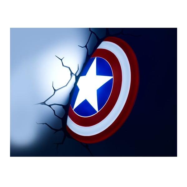 Kinkiet z naklejką Captain America