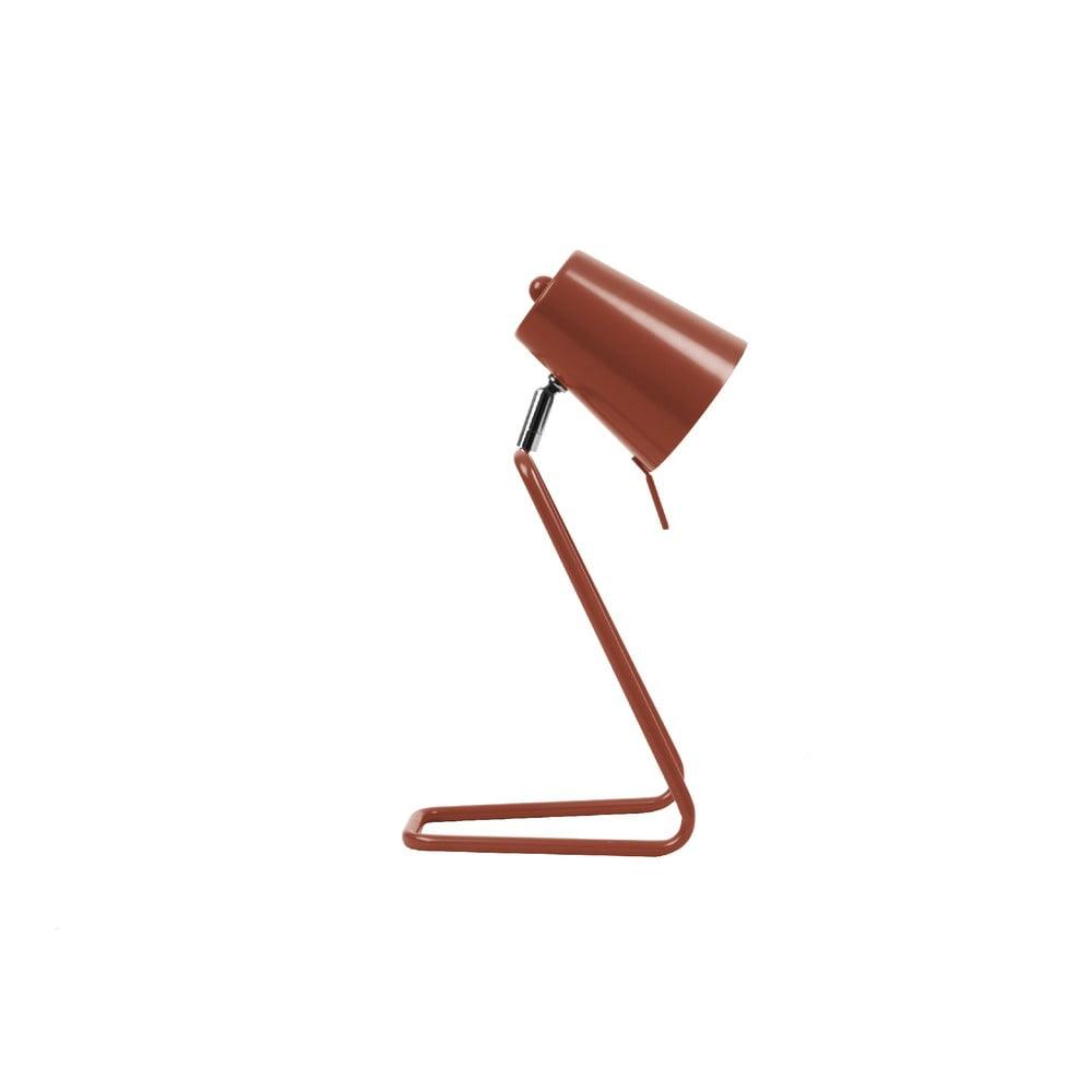 Czerwona lampa stołowa Leitmotiv Z