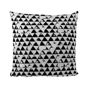 Poduszka Black Shake Pyramides, 50x50 cm