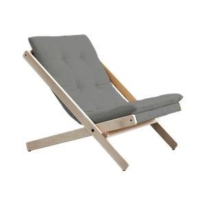 Fotel składany Karup Design Boogie Raw/Gris