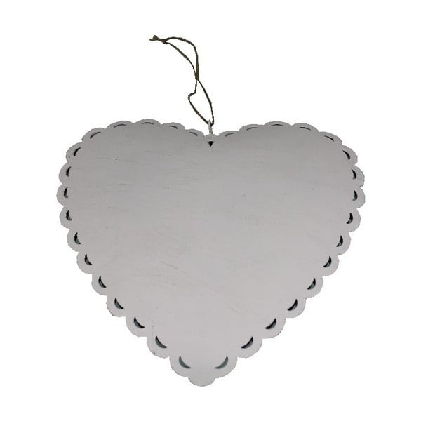 Dekoracja wisząca Romantic Heart, 19 cm