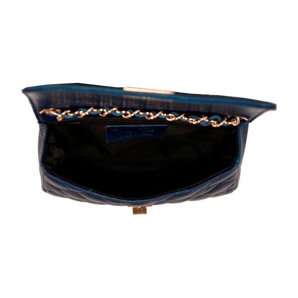 Ciemnoniebieska torebka skórzana Andrea Cardone Elena