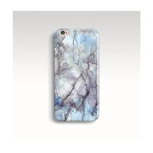 Etui na telefon Marble Blue na iPhone 6/6S