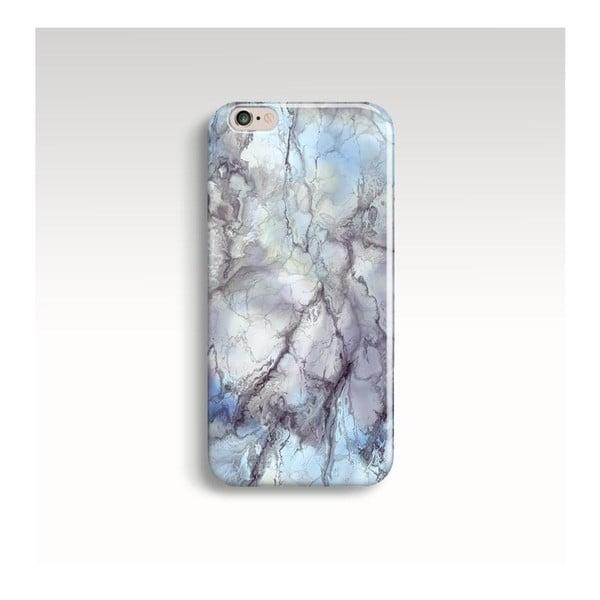 Etui na telefon Marble Blue na iPhone 5/5S