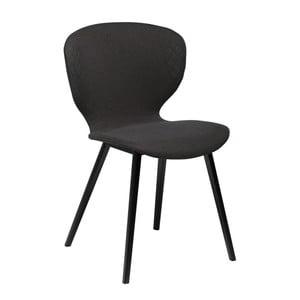 Czarne krzesło DAN-FORM Denmark Hawk