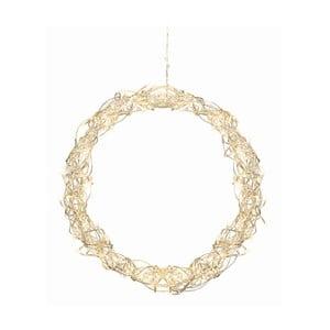Świecąca dekoracja Curly Wreath, 45 cm