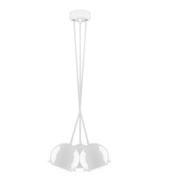 Potrójna lampa MYOO opal glossy/white/white