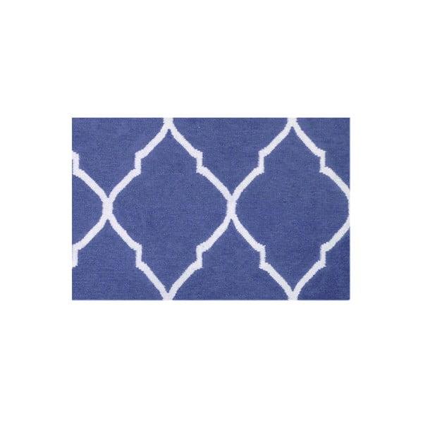 Ręcznie tkany dywan Caroline Dark Blue, 120x180 cm