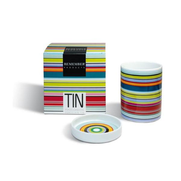 Pojemnik porcealnowy Colour Stripes