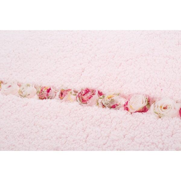 Dywanik łazienkowy Frenésie Pink, 65x80 cm