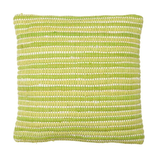 Poduszka Green Stripes, 45x45 cm