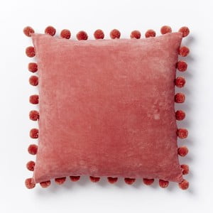 Poszewka na poduszkę Ashti Red, 45x45 cm