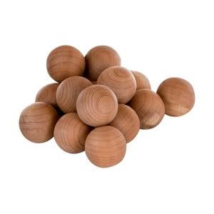 Zestaw 15 drewnianych kuli zapachowywch Premier Housewares Cedar Balls