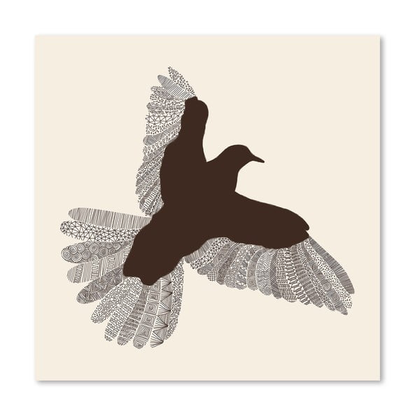 Plakat Bird, 30x30 cm